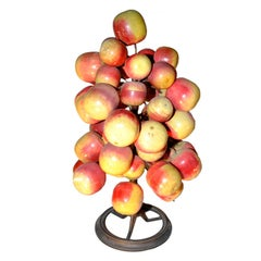 "Unusual Folky ""Apple Tree"" Table Decoration"