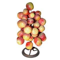 """Unusual Folky """"Apple Tree"""" Table Decoration"""