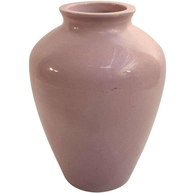 Vintage Sand Jar - Dusky Pink Glaze