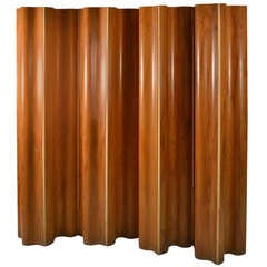 Rare Nine Panel Eames Folding Screen