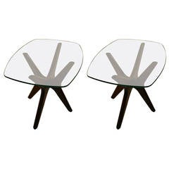 Pair of Pearsall Jack End Tables