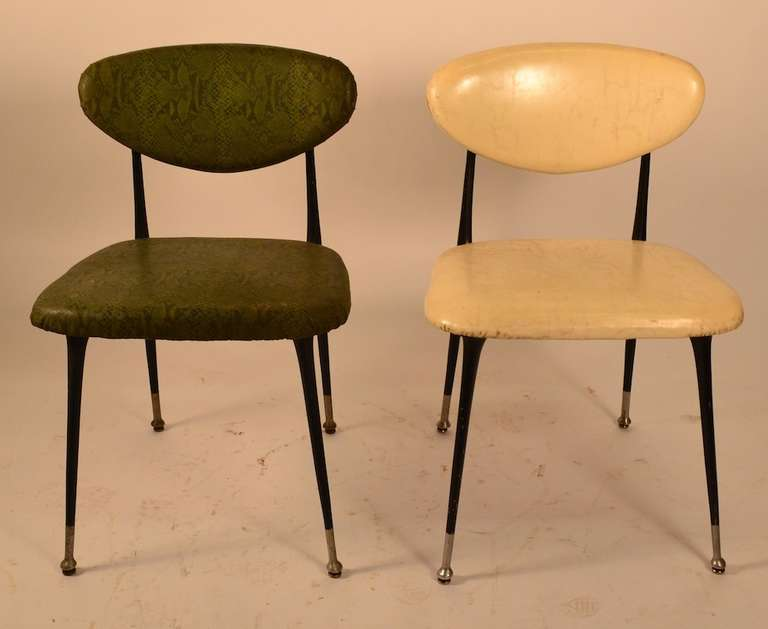 Genial Set Of Four Shelby Williams Gazelle Chairs. Three Are Currently In The Green