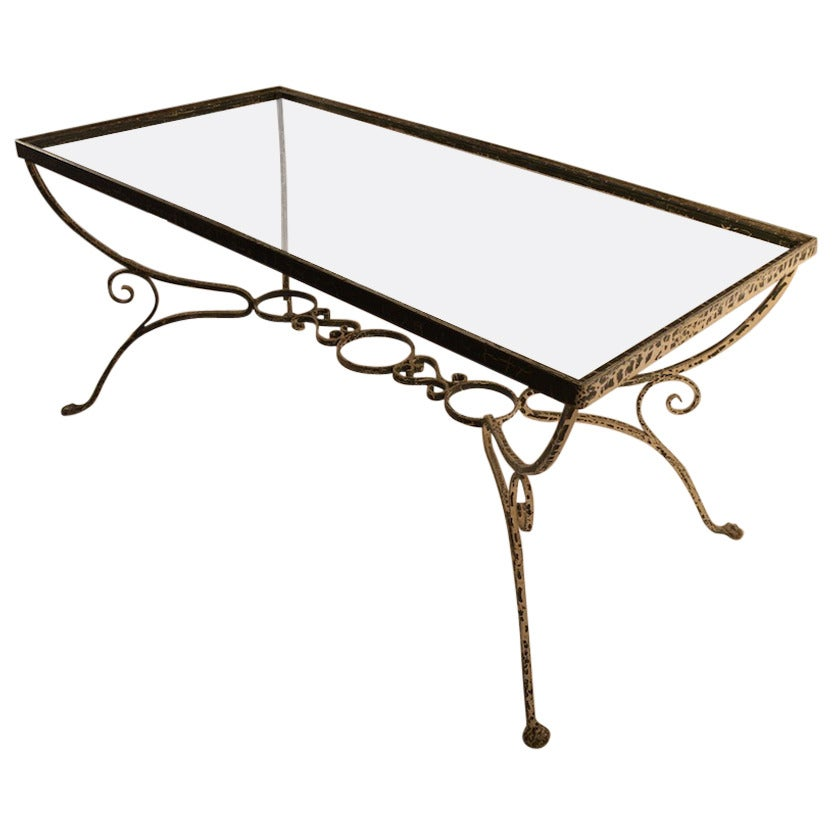 Salterini Glass-Top Dining Garden Table