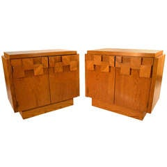 Pair Lane Night Stands / End Tables