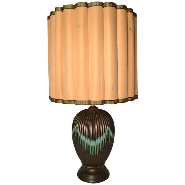 Marbro Table Lamp with original shade