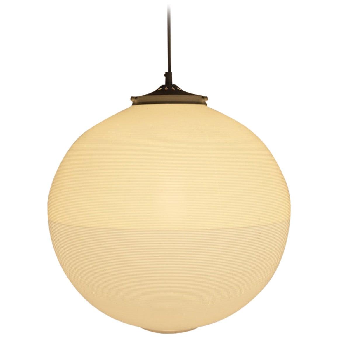 Unusual Heifetz Rotaflex Ball Form Globe