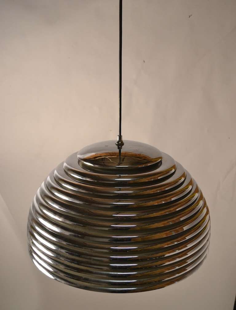 Mid-Century Modern Kazuo Motozawa Saturno Pendant Light For Sale