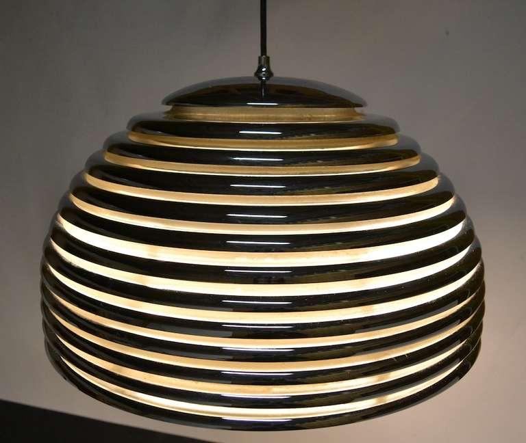 Late 20th Century Kazuo Motozawa Saturno Pendant Light For Sale