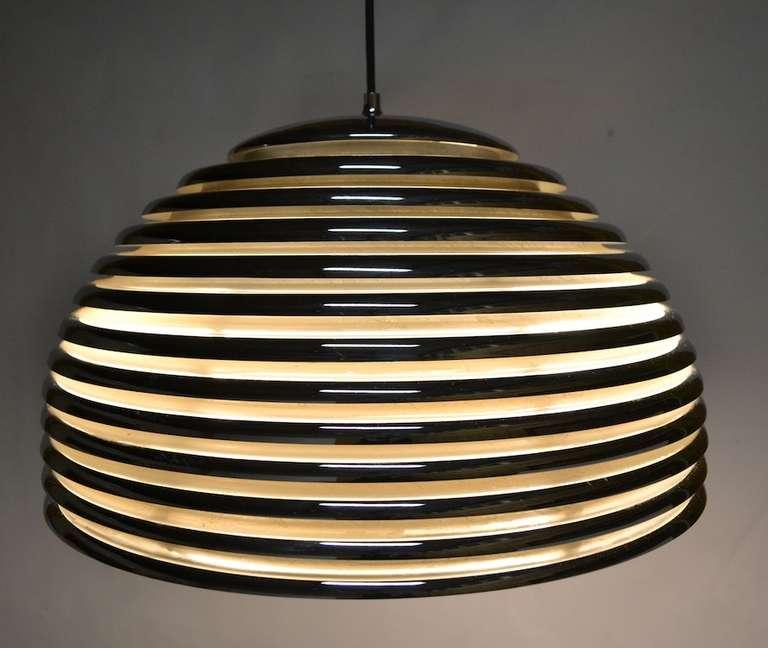 German Kazuo Motozawa Saturno Pendant Light For Sale