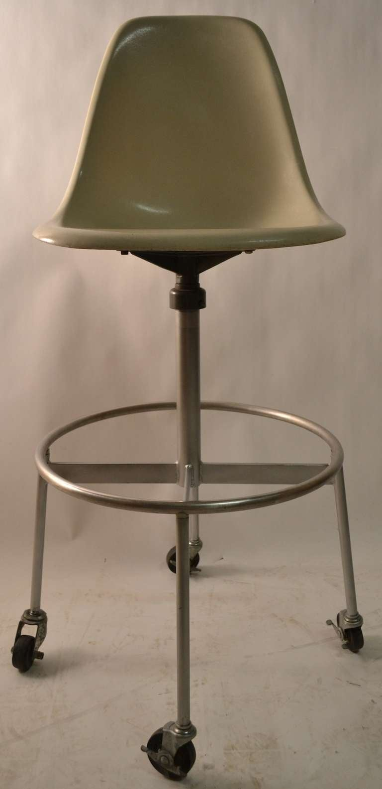 eames herman miller drafting stool for sale at 1stdibs