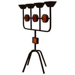 Erik Hoglund for Yastad Four-Light Candlestick