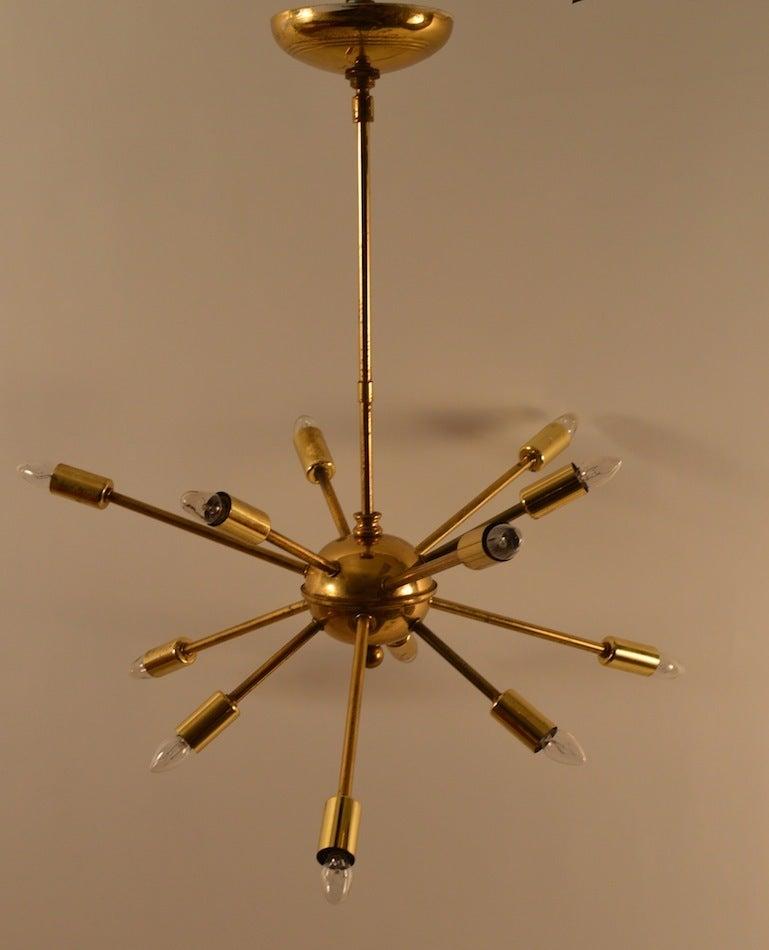 12 Light Sputnik Chandelier For Sale At 1stdibs