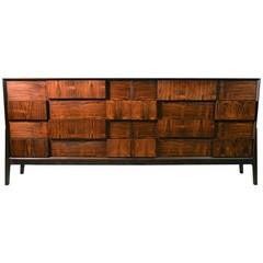 Eight-Drawer Dresser by Piet Hein in Rosewood Veneer