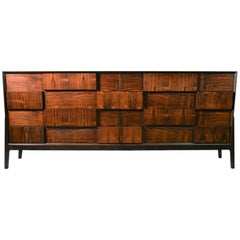 Eight-Drawer Dresser by Piet Hein in Rosewood Veneer