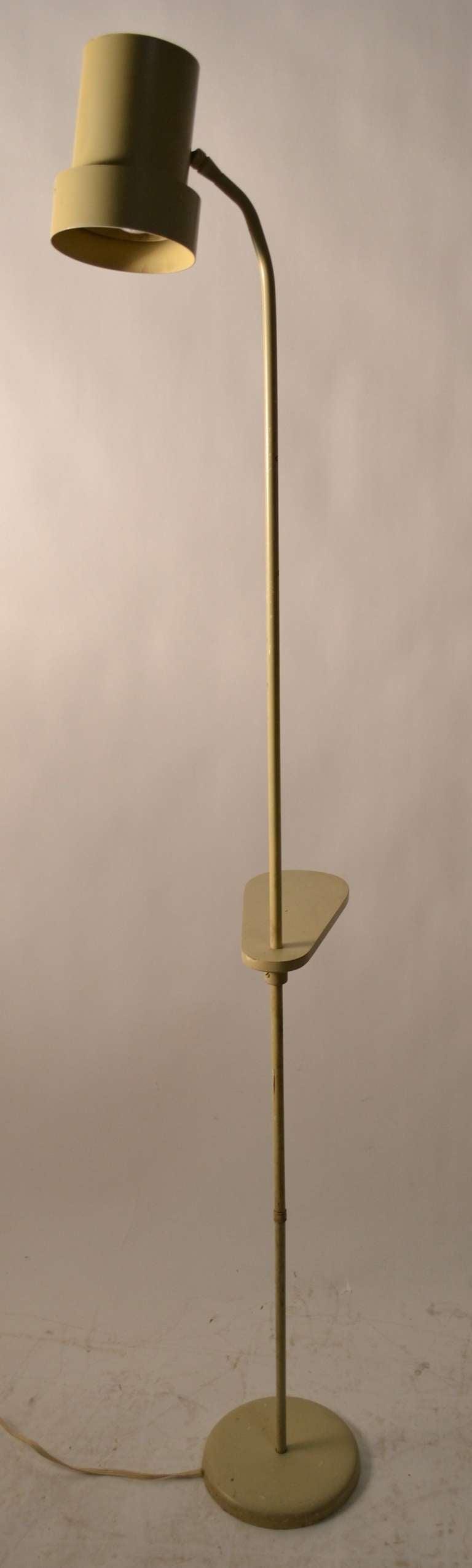 this unusual possibly unique adjustable floor lamp is no longer