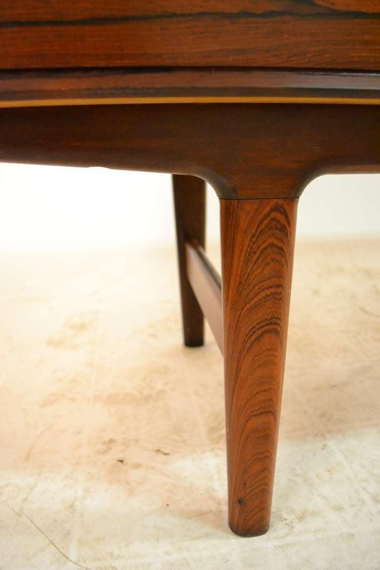 Elegant Large Rosewood Danish Modern Credenza Server 5