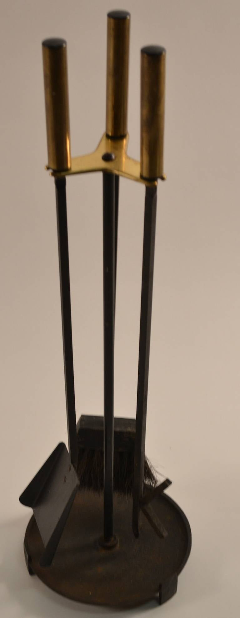 Modernist Fireplace Tool Set at 1stdibs