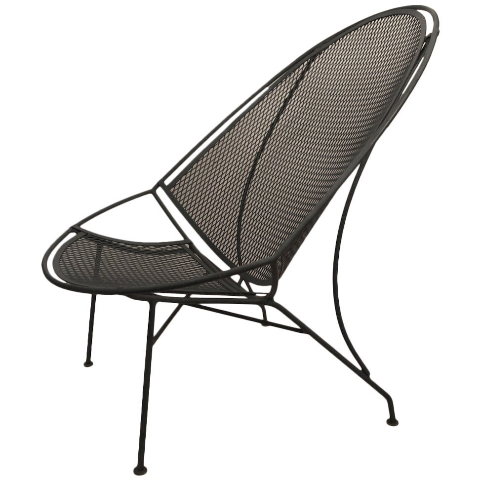 High Back Salterini Lounge Chair At 1stdibs