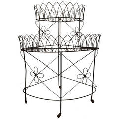 Corner Plant Stand by Frederick Weinberg