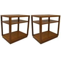 Pair of Dunbar Bleached Mahogany Tables