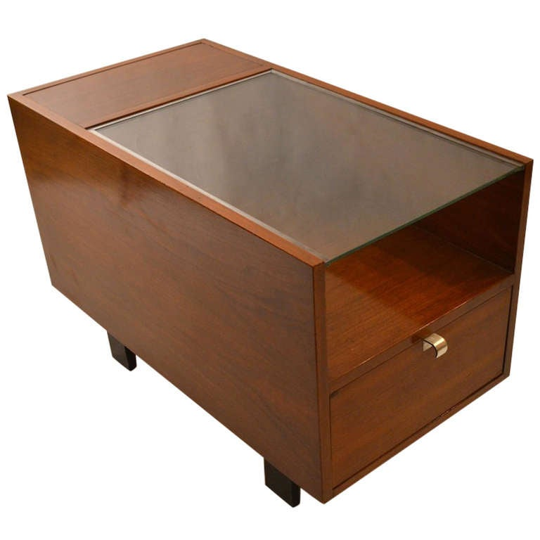 George Nelson Herman Miller Side End Table 1