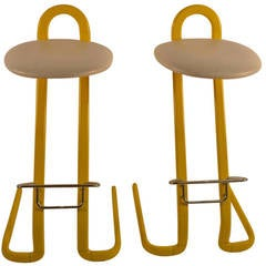 Pair of Italian Stools by Thema