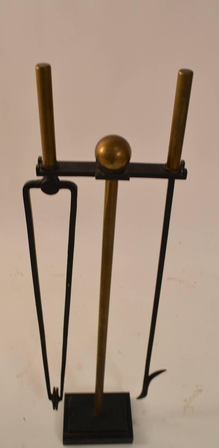 William H Jackson Modernist Fireplce Tool Set At 1stdibs