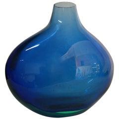 Flavio Poli for Seguso Large Sommerso Vase