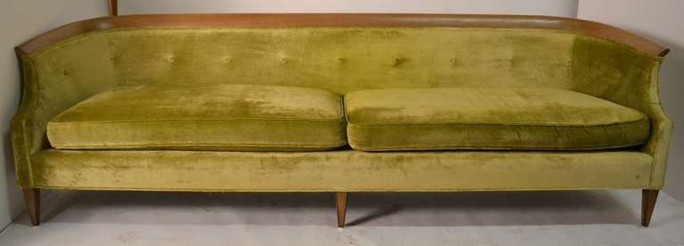 Stylish And Comfortable Elegant Low Slung Sofa Will Need To Be Red Structurally