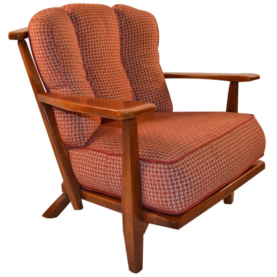 Living Room Lounge Chair Sale cushman maple lounge chair for sale at 1stdibs 1