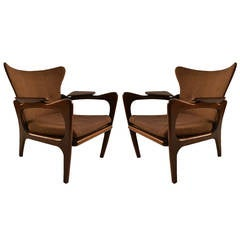 Pair Pearsall Chairs