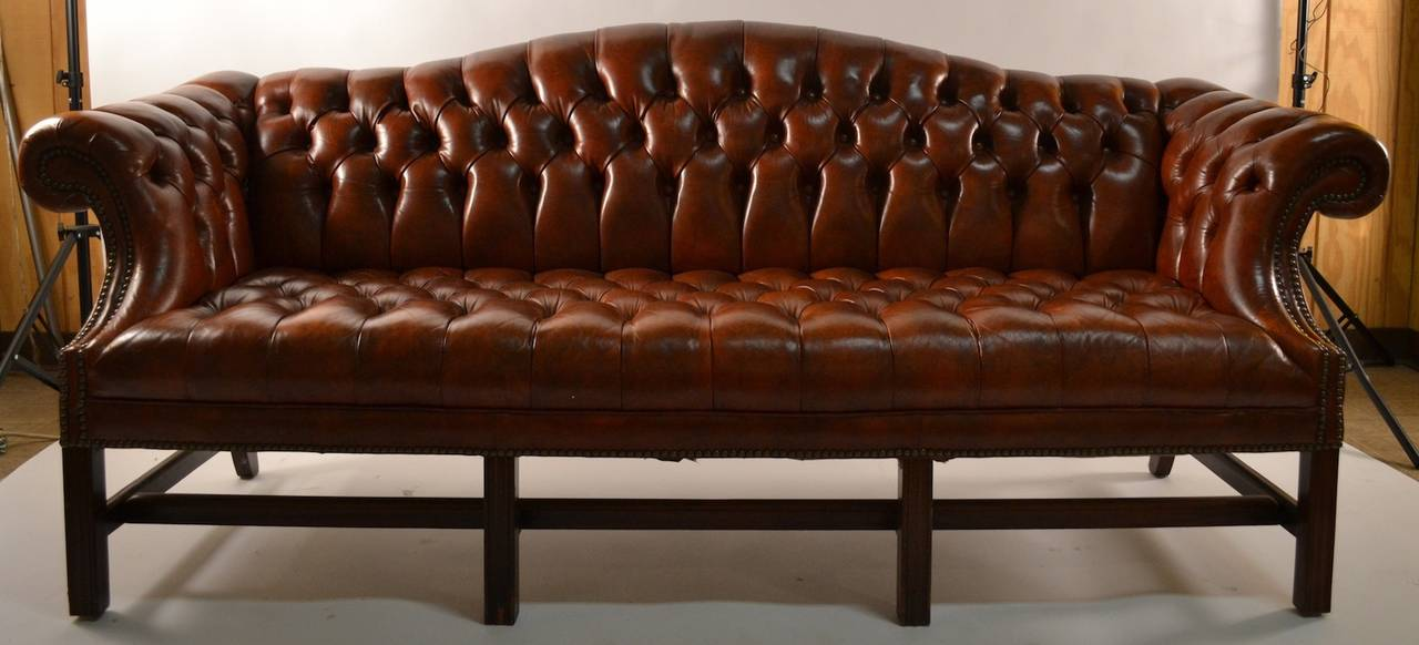 Check these Amazing Leather Camel Back Sofa Pictures - Home ...