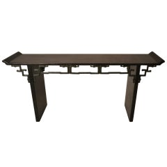 Maitland Smith Asia Modern Console Table