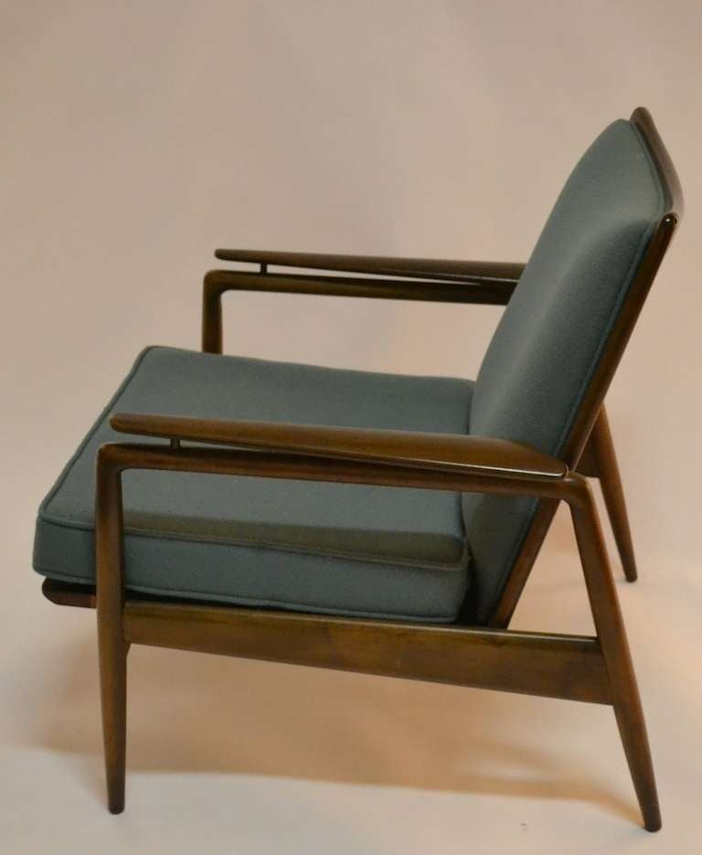 Superb Danish Modern Lounge Chair By Selig 3