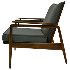 Danish Modern Lounge Chair by Selig