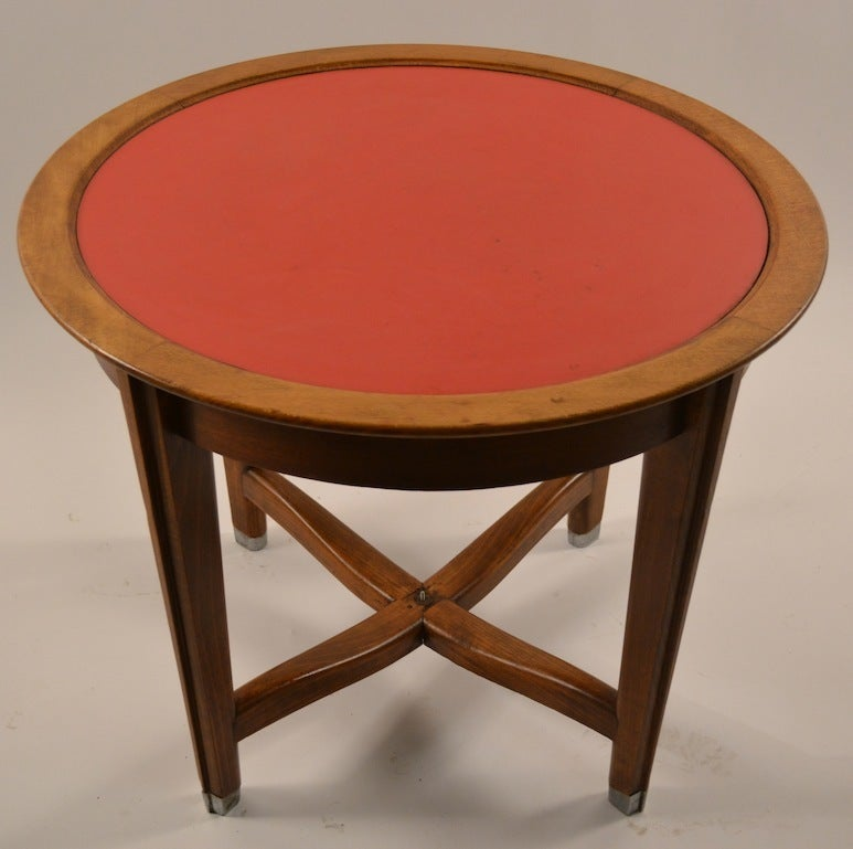 Art Deco Table by Batistin Spade For Sale 4