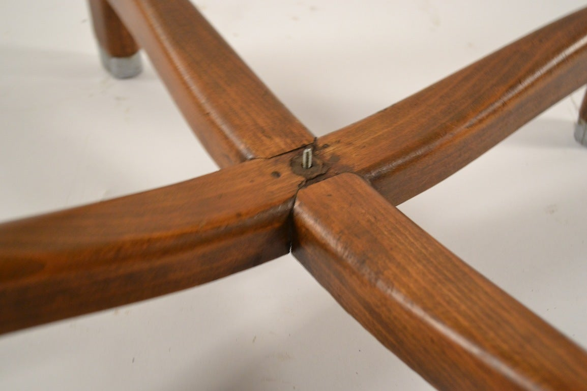 Art Deco Table by Batistin Spade For Sale 3