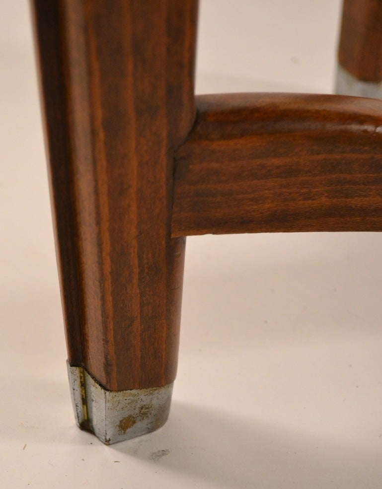 Art Deco Table by Batistin Spade For Sale 2