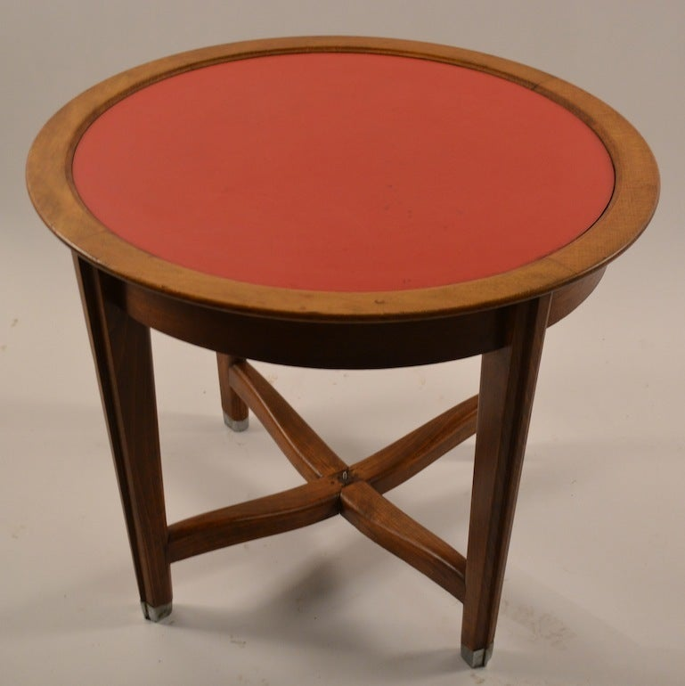 Art Deco Table by Batistin Spade For Sale 1