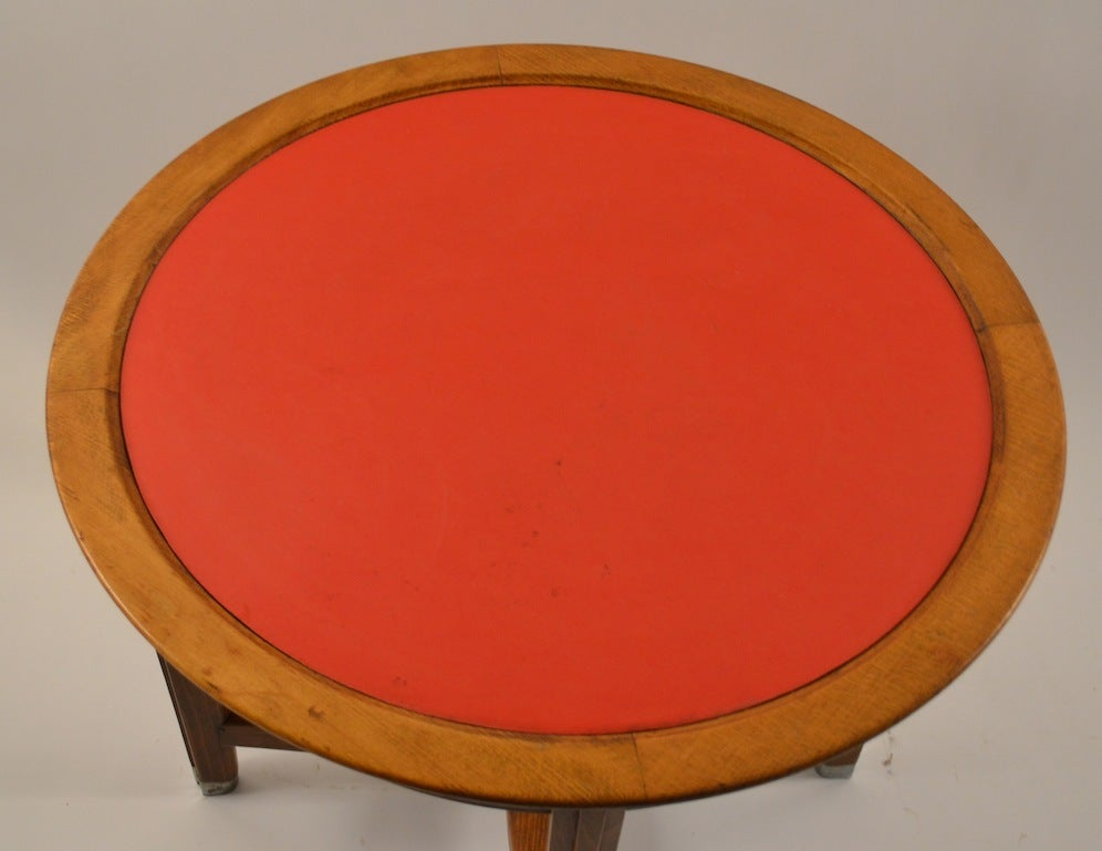 Art Deco table designed by Batistin Spade for the