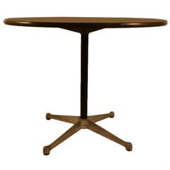 Eames for Herman Miller Aluminum Group Cafe Dining Table