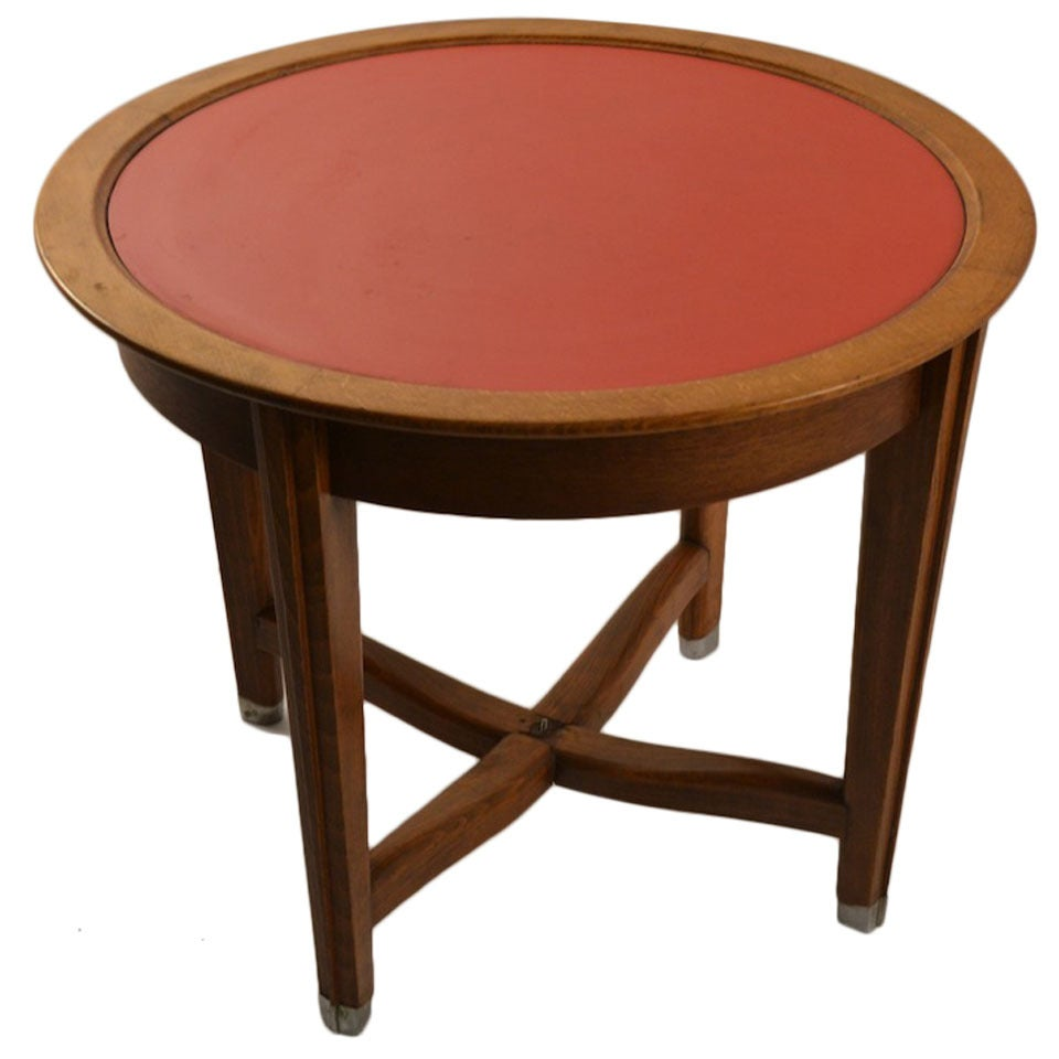 Art deco table by batistin spade at 1stdibs for Table 52 prices