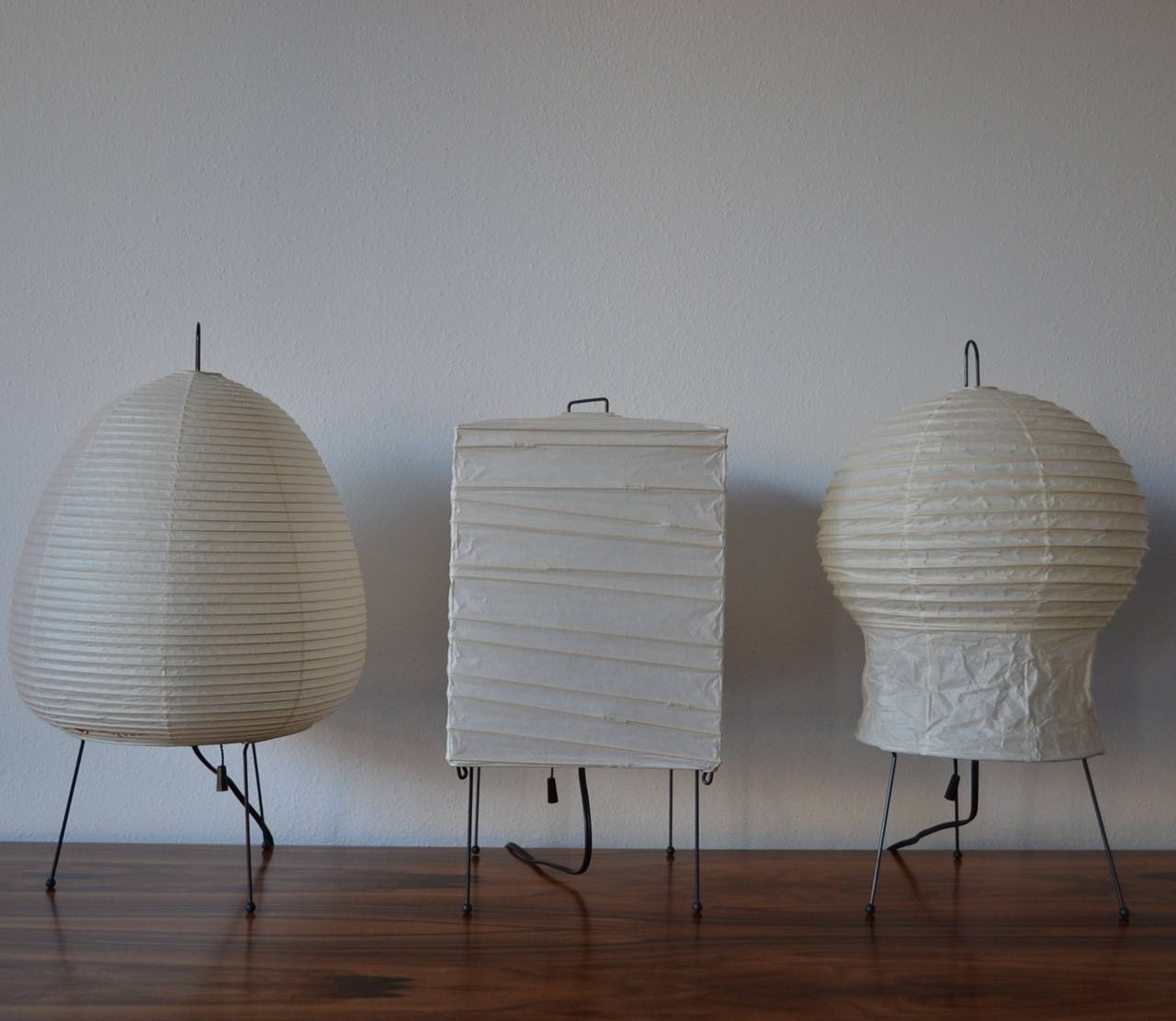 Table Lamp By Isamu Noguchi At 1stdibs