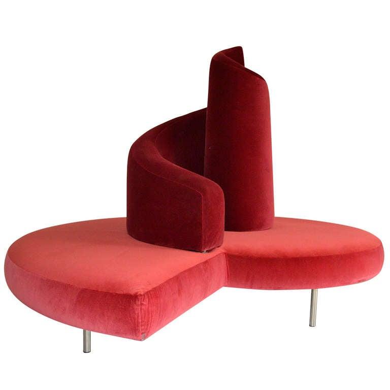 Tatlin Sofa by Mario Cananzi and Roberto Semprini 1