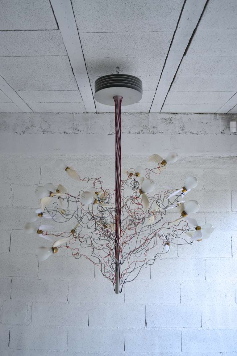 birds birds birds chandelier by ingo maurer for sale at. Black Bedroom Furniture Sets. Home Design Ideas