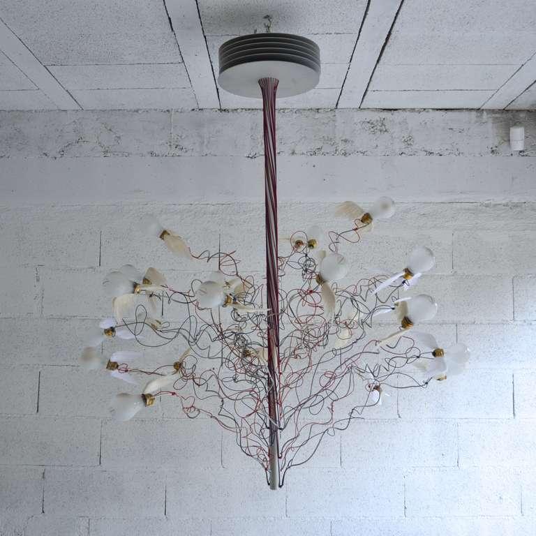 birds birds birds chandelier by ingo maurer image 2. Black Bedroom Furniture Sets. Home Design Ideas