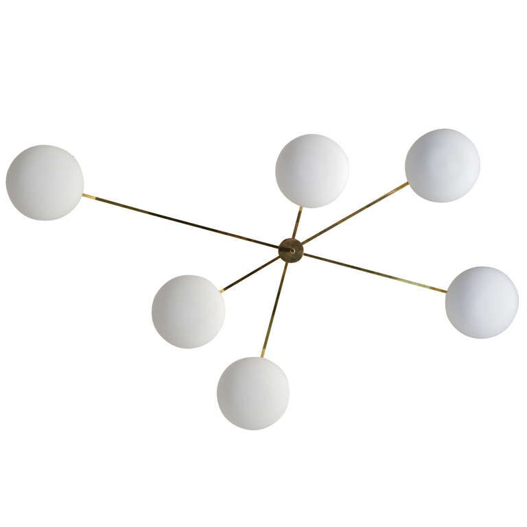 angelo lelli ceiling manufactured by arredoluce at 1stdibs