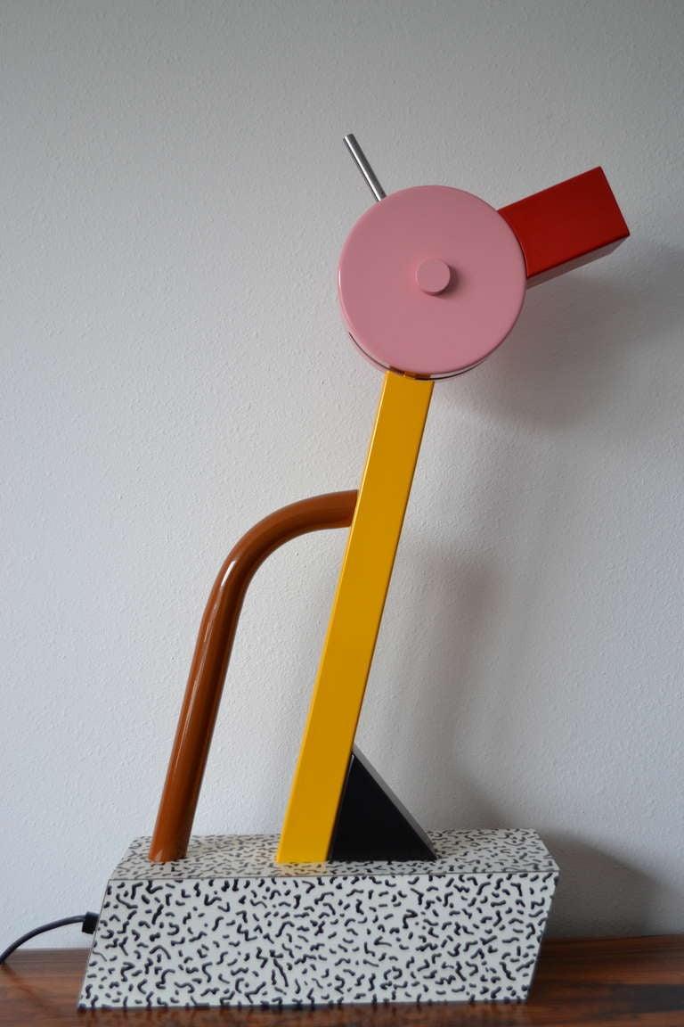 Ettore Sottsass Tahiti  Lamp Memphis Milano 3