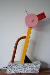 Ettore Sottsass Tahiti  Lamp Memphis Milano image 3