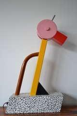 Ettore Sottsass Tahiti  Lamp Memphis Milano image 2